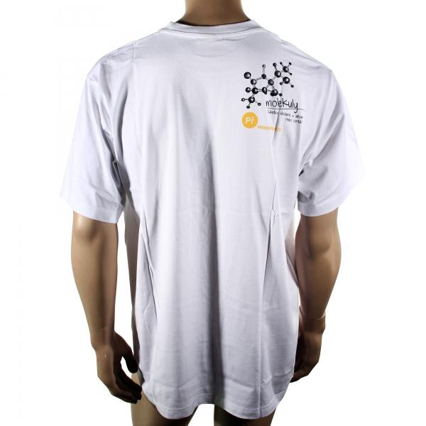 f34bd84e899 Pánské triko Materiál 100% bavlna V přední části designový motiv chemické  sekce. Vza …