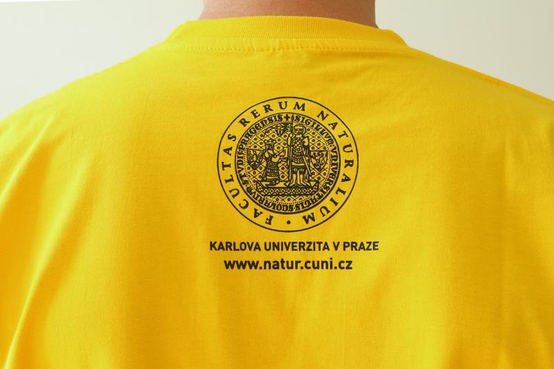 96fc341fa09 Tričko s fakultními panáčky - GEOLOGIE