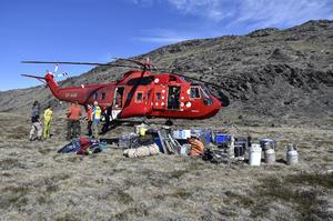 alt: Dopravit se do Grónska je náročné a vyžaduje značné vybavení. Foto Marie Bulínová